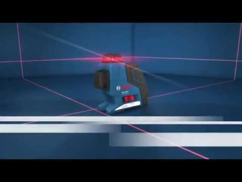 niveau laser lignes gll 3-80 p bosch - youtube