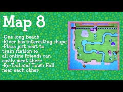 Animal crossing map animal crossing new leaf maps which ones do you pick gumiabroncs Image collections