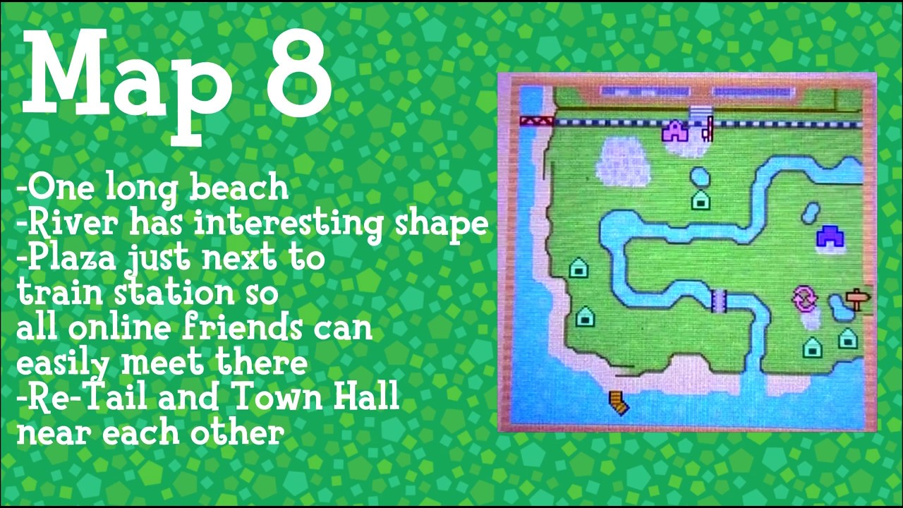 Acnl Maps Which Type Do You Choose Animal Crossing Adventures