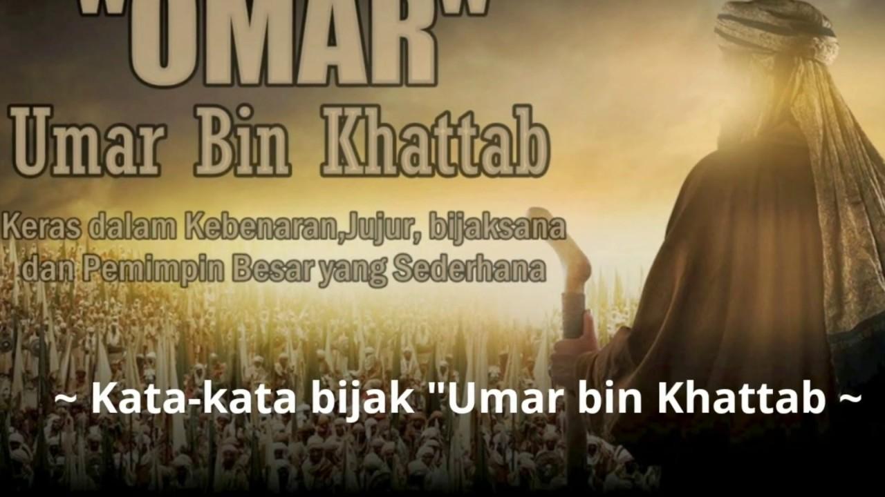 Kata Kata Bijak Umar Bin Khattab Youtube