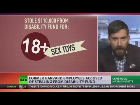 Sex toys instead of textbooks: Harvard employees accused of stealing from disability fund