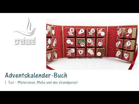 diy adventskalender selbst gestalten teil 1 mit crehand und stampin up youtube. Black Bedroom Furniture Sets. Home Design Ideas