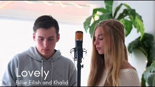 Lovely (Bille Eilish and Khalid Cover) - Hannah Geller and Matt Ulrich