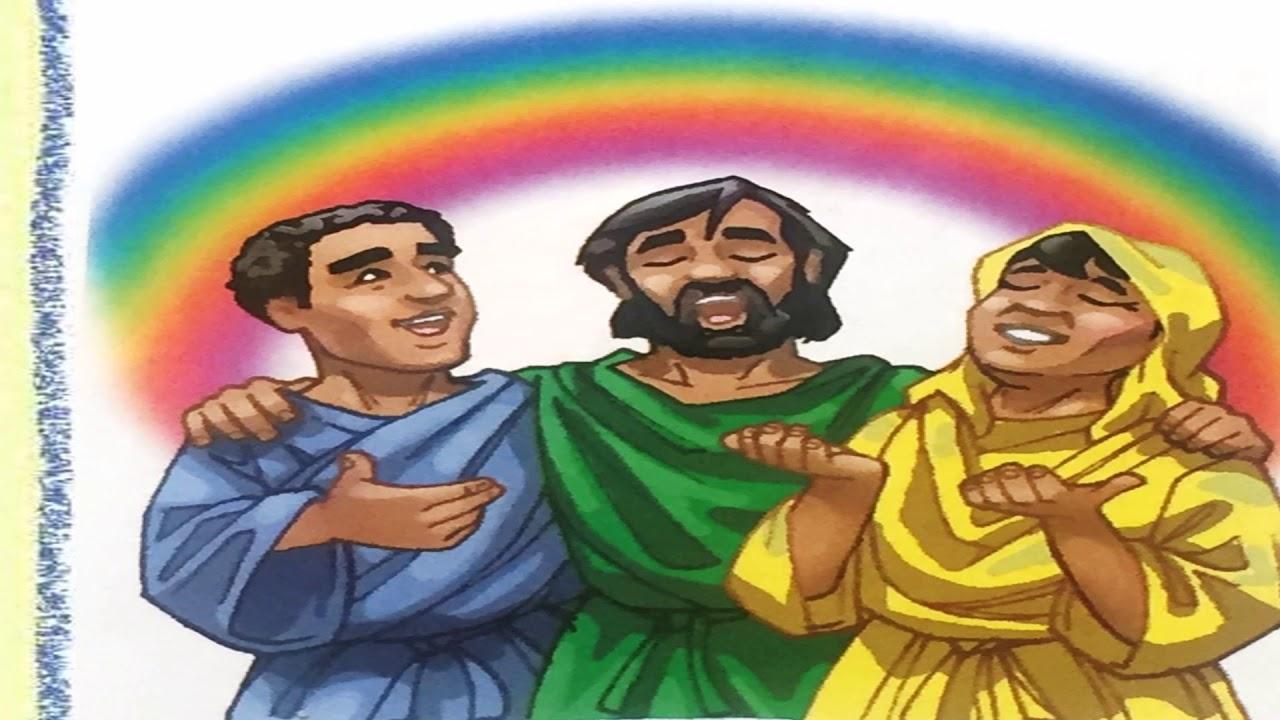 El arco ris de la promesa de dios lunes lecci n 8 dpto for Leccion jardin infantes 2016