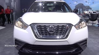 2018 Nissan Kicks Sv - Exterior And Interior Walkaround - La Auto Show 2017