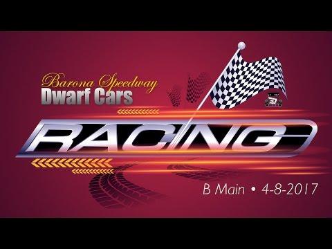 Barona Speedway Dwarf Car • B Main • 4-8-2017
