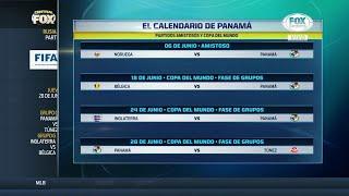 El calendario de Panamá previo y durantembo a Rusia 2018