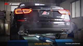 Maserati Quattroporte S w/ Fi Exhaust SOUND!