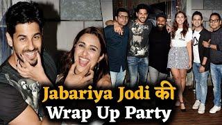 Film 'Jabariya Jodi' की Shooting हुई खत्म, तो Sidharth और Parineeti ने इस तरह की मस्ती