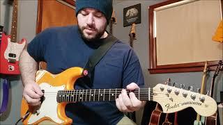 Green Day - Redundant (Guitar Cover)