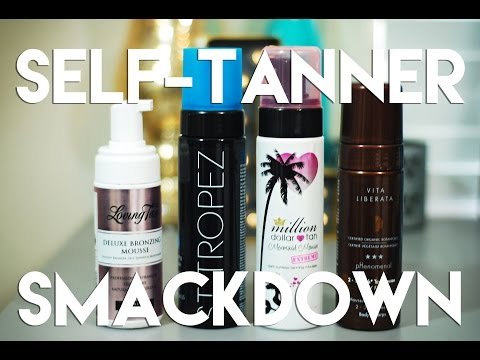Self-Tanner Smackdown! Side-by-Side Comparison