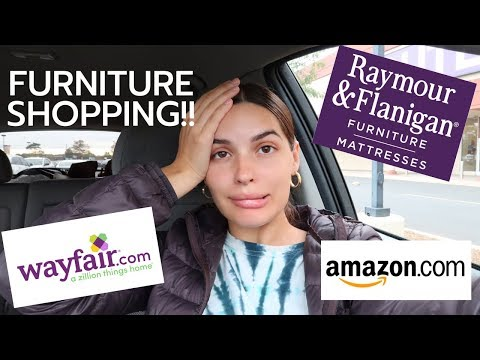 *MUST WATCH IF YOU'RE MOVING OR LOOKING FOR FURNITURE* |  Amazon,  Wayfair & Raymour and Flanigan