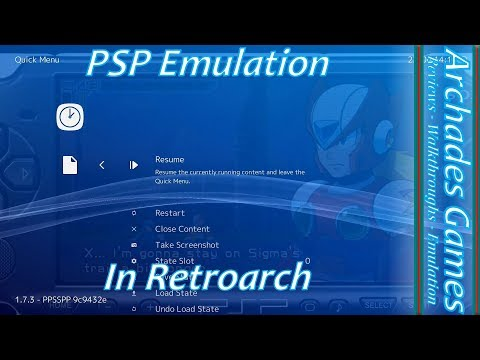 How to Setup Retroarch for PSP Emulation - YouTube