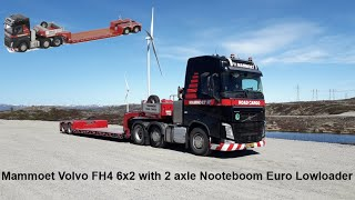 New Collectible: Mammoet Volvo FH4 6x2 With 2 Axle Nooteboom Euro Lowloader