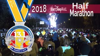 2018 Walt Disney World Half Marathon - Marathon Weekend