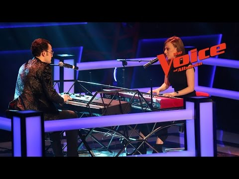 Wendy VS Rei – Speechless/Your song   Betejat   The Voice of Albania 6