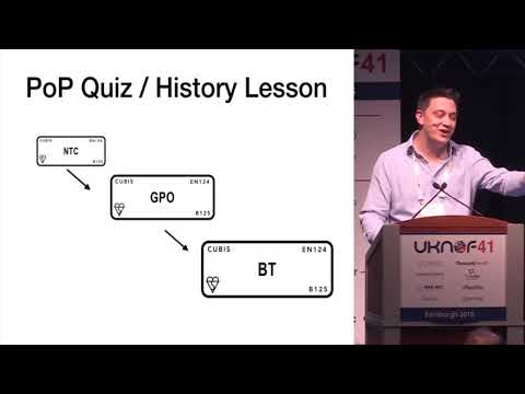 UKNOF41 - The Hitchhikers Guide To Ducts And Poles, Networks And 30 Years Of Acquisitions