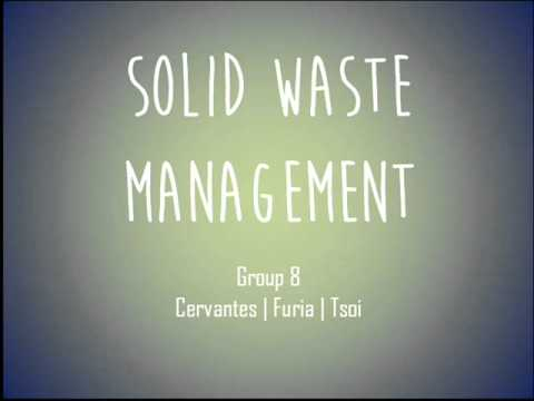 Environmental Science - Solid Waste Management Podcast