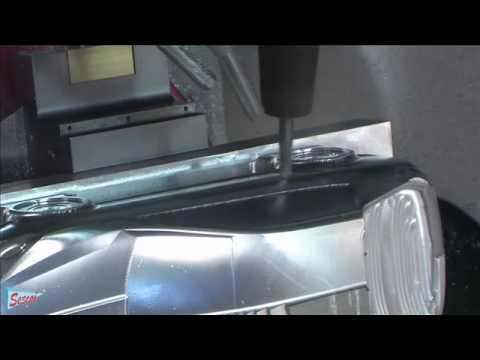 CAD/CAM- CNC - Gia công 5 trục xe hơi trưng bày