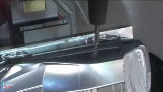 Concept car CAD/CAM- CNC 5 axis machining