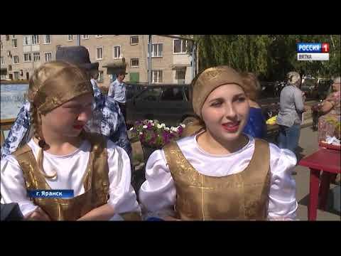В Яранске прошел фестиваль творчества и ремесел «Дворянское гнездо»(ГТРК Вятка)
