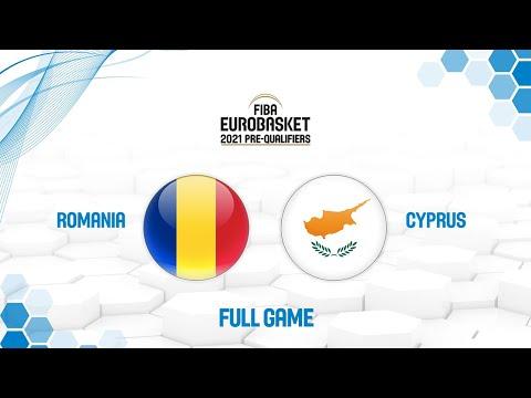 Romania v Cyprus - Full Game - FIBA EuroBasket 2021 Pre