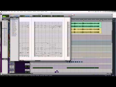 Programas para escribir y grabar música - Sibelius y Pro Tools
