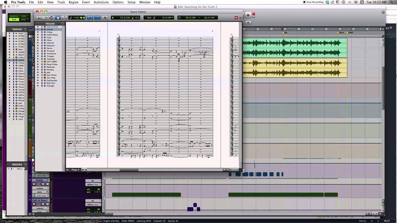 Programas Para Escribir Y Grabar Musica Sibelius Y Pro Tools Youtube
