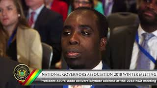 National Governors Association 2018 Winter Meeting