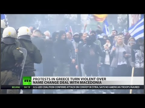 Protests rock Greece over Macedonia name-change