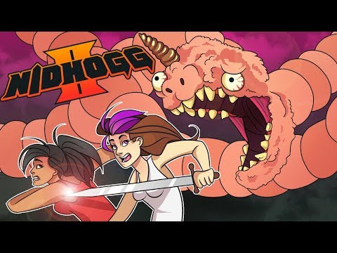 SALT. THE VIDEO GAME! | Nidhogg 2 | Multiplayer