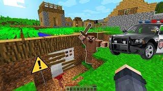 POLİSLER KATİL FAKİRİN 1000 YILLIK GEÇİTİNİ BULDU! 😱 - Minecraft
