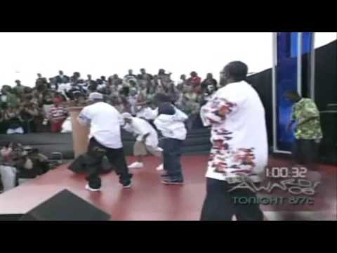 Three 6 Mafia Ft. Bow Wow & Project Pat - Side 2 Side (Red Carpet Live Performance)