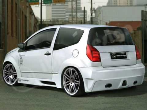 tuning impresionante citroen c2 youtube. Black Bedroom Furniture Sets. Home Design Ideas