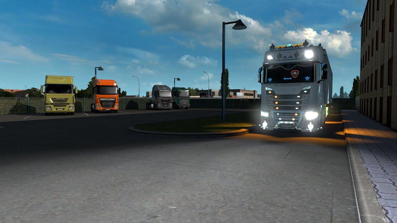 【火神】《Euro Truck Simulator 2》1.37 更新試跑跑