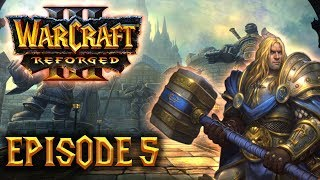 Let's Play 100% DIFFICILE FR - Warcraft III Reforged (Kylesoul) - ep05 : Prince Arthas !