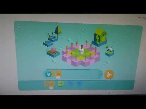 Google Doodle Kids Coding Level 6 -  Shortest Solution