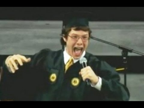 WATCH: College Student Delivers The Most Epic Freshman Convocation Speech Ever - Nick Selby