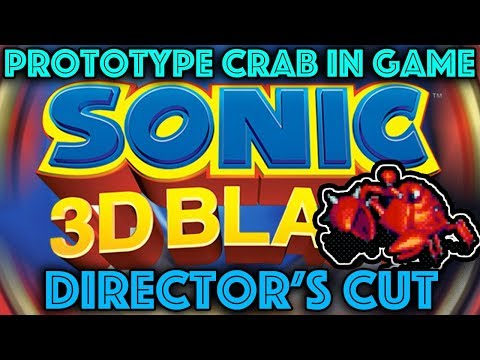 Sonic 3D Director's Cut Part 3 - Options, Editors and Crabs!