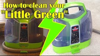 How To Clean a Bissell SpotBot Pet Carpet Cleaner