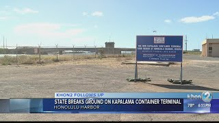 State breaks ground on long-awaited Kapalama Container Terminal