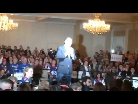 Ted Cruz Handles Animal Rights Protester at Rally Glen Ellyn, IL