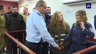 استمرار توقيف عهد التميمي وإرجاء محاكمتها حتى 13 الجاري - (5-2-2018)