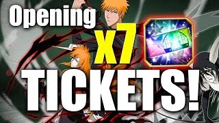 Opening Seven 5 Star Tickets! [Bleach Brave Souls]