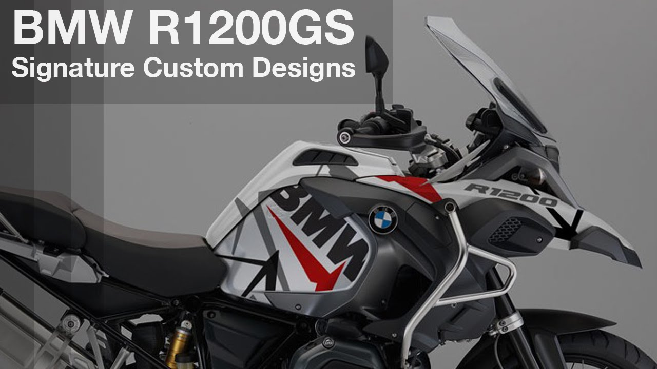bmw r1200gs lc adventure sticker decal design - youtube