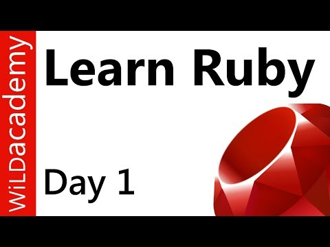 Ruby Programming - 1 - Install Ruby and Editor