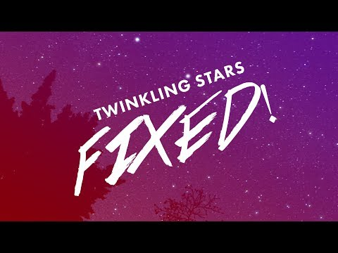 Twinkle Effect Fix!   After Effects Tutorial