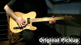 SQUIER Telecaster Classic Vibe - Neck Pickup Test