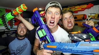 THE NON NERF GUN GAME BLASTERS!
