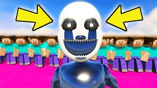 nightmare puppet vs army of minecraft steve gta 5 mods for kids fnaf funny moments